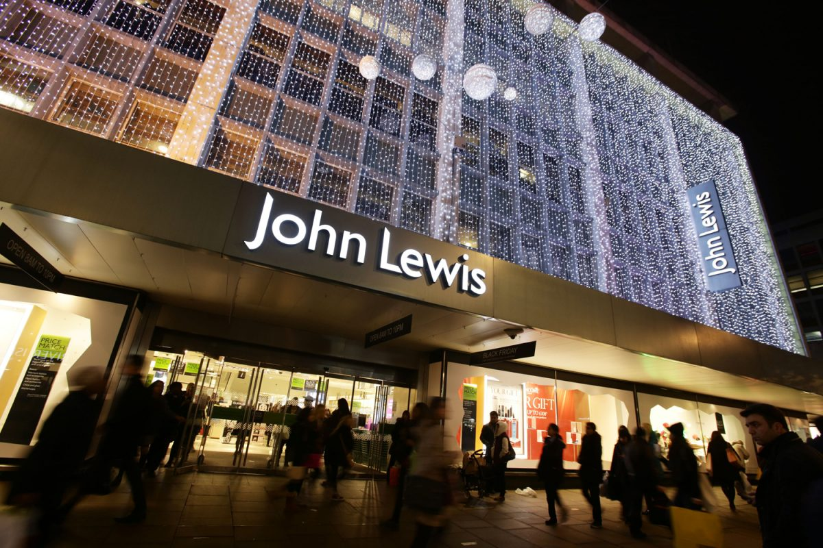 File photo dated 28/11/2014 of the exterior of John Lewis lit up for Christmas, on Oxford Street in central London. The retailer saw like-for-like sales lift 5.1% in the six weeks to January 2, but it relied on a 21.4% jump in online trade as comparable store sales dropped 1.2%. PRESS ASSOCIATION Photo. Issue date: Wednesday January 6, 2016. See PA story CITY JohnLewis. Photo credit should read: Yui Mok/PA Wire